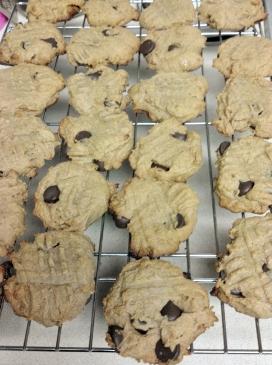 Clean Chocolate Chip Cookies