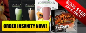 INSANITY on SALE!!!!